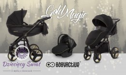 Wózek Mommy 3w1 BabyActive Gold Magic 15