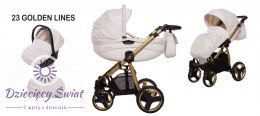 Wózek Mommy 3w1 BabyActive Gold Magic 23