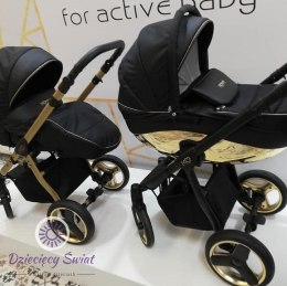 Wózek Mommy 3w1 BabyActive Gold Magic 16B