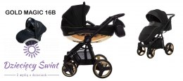 Mommy 3in1 BabyActive Gold Magic 16B Stroller