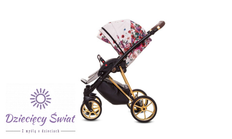 Baby Stroller Musse 3in1 BabyActive Light Rosse New 2020r