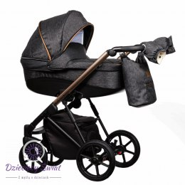 Baby trolley FX 3in1 Paradise 3 Black and white New 2020