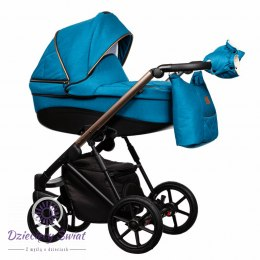 Baby trolley FX 3in1 Paradise 5 Blue New 2020