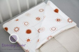 Kocyk Cottonwaffel 75 x 100 Sunshine & Beige Tiny Star
