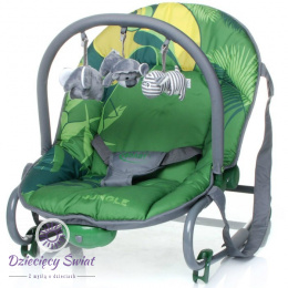 Leżaczek Jungle 4baby GREEN