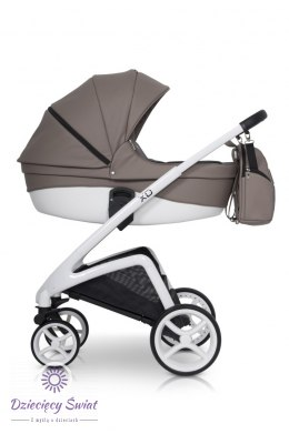 Baby stroller XD 3in1 RIKO CAPPUCCINO - NEW